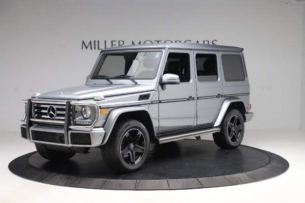 Used 2017 Mercedes-Benz G-Class G 550 for sale $86,900 at Rolls-Royce Motor Cars Greenwich in Greenwich CT 06830 2