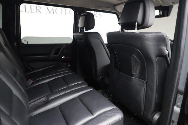 Used 2017 Mercedes-Benz G-Class G 550 for sale $86,900 at Rolls-Royce Motor Cars Greenwich in Greenwich CT 06830 22