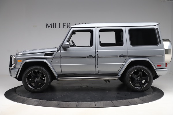 Used 2017 Mercedes-Benz G-Class G 550 for sale $86,900 at Rolls-Royce Motor Cars Greenwich in Greenwich CT 06830 3