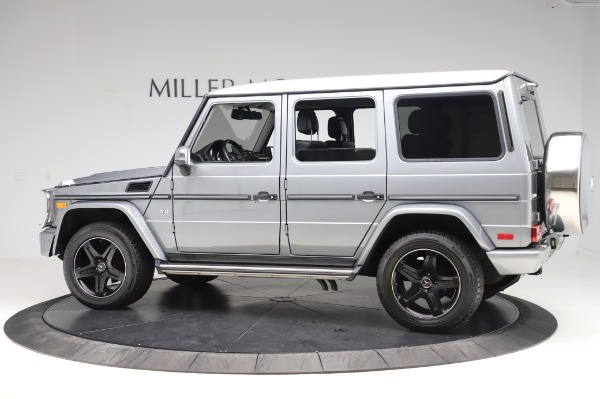 Used 2017 Mercedes-Benz G-Class G 550 for sale $86,900 at Rolls-Royce Motor Cars Greenwich in Greenwich CT 06830 4