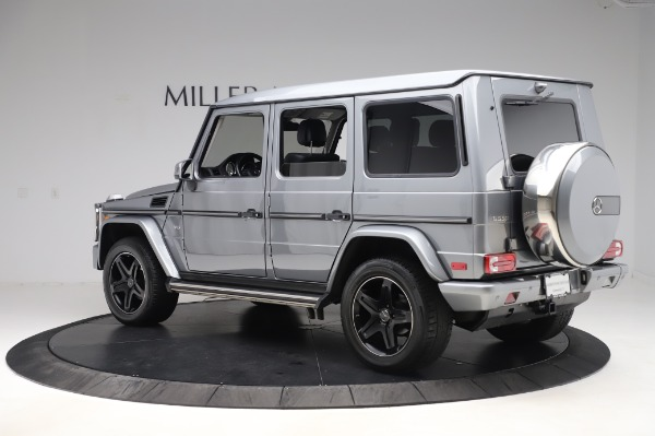 Used 2017 Mercedes-Benz G-Class G 550 for sale $86,900 at Rolls-Royce Motor Cars Greenwich in Greenwich CT 06830 5