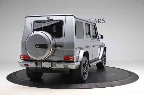 Used 2017 Mercedes-Benz G-Class G 550 for sale $86,900 at Rolls-Royce Motor Cars Greenwich in Greenwich CT 06830 7