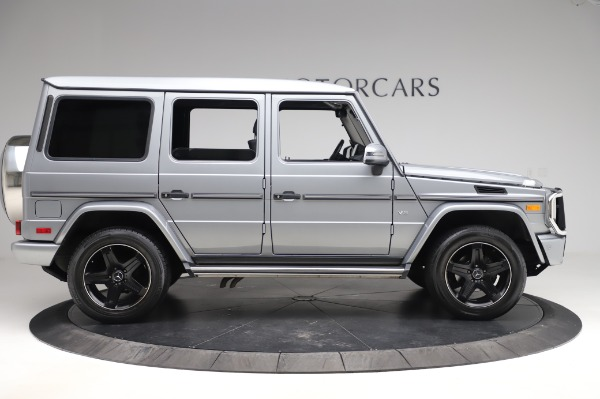 Used 2017 Mercedes-Benz G-Class G 550 for sale $86,900 at Rolls-Royce Motor Cars Greenwich in Greenwich CT 06830 9