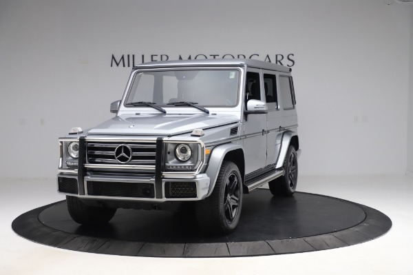 Used 2017 Mercedes-Benz G-Class G 550 for sale $86,900 at Rolls-Royce Motor Cars Greenwich in Greenwich CT 06830 1