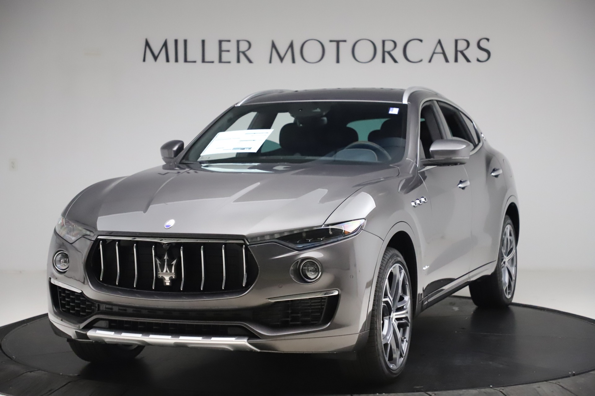 New 2020 Maserati Levante Q4 GranLusso for sale $90,440 at Rolls-Royce Motor Cars Greenwich in Greenwich CT 06830 1