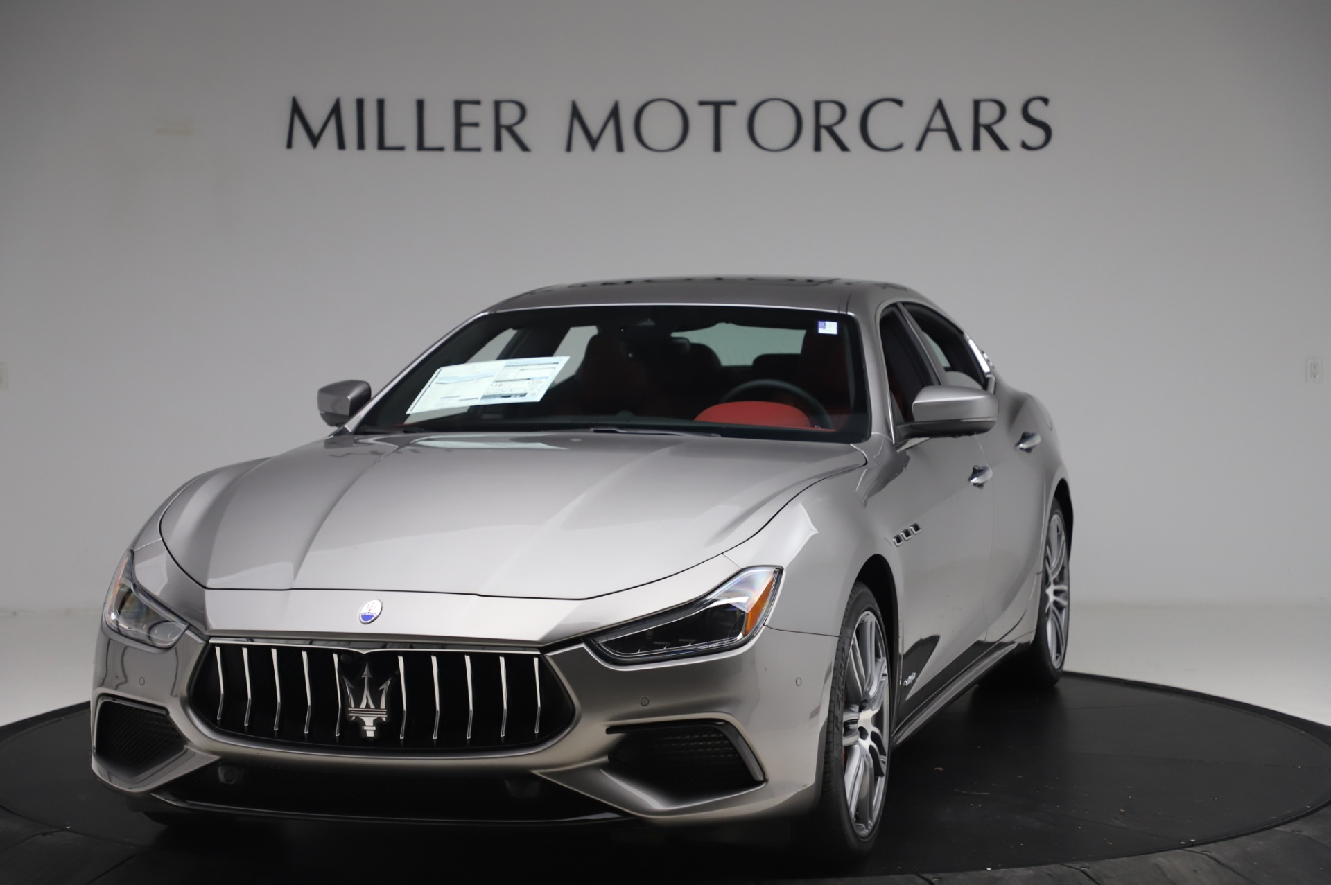 New 2020 Maserati Ghibli S Q4 GranSport for sale $91,290 at Rolls-Royce Motor Cars Greenwich in Greenwich CT 06830 1