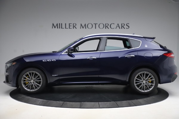 New 2020 Maserati Levante Q4 GranSport for sale Sold at Rolls-Royce Motor Cars Greenwich in Greenwich CT 06830 3