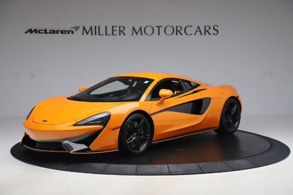Used 2017 McLaren 570S Coupe for sale $149,900 at Rolls-Royce Motor Cars Greenwich in Greenwich CT 06830 1