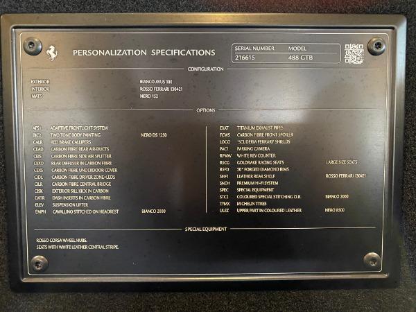 Used 2016 Ferrari 488 GTB Base for sale $239,900 at Rolls-Royce Motor Cars Greenwich in Greenwich CT 06830 28