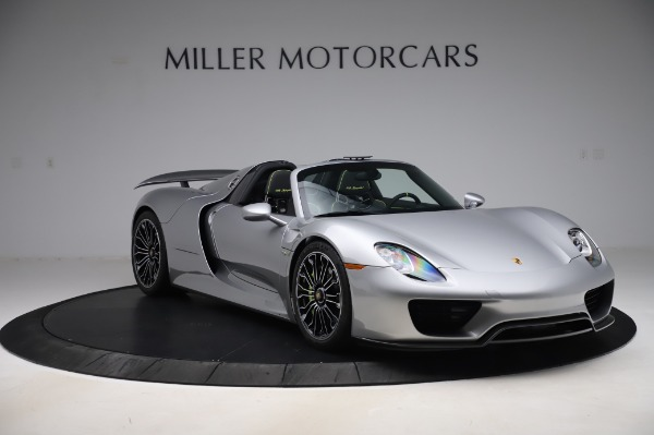 Used 2015 Porsche 918 Spyder for sale $1,355,900 at Rolls-Royce Motor Cars Greenwich in Greenwich CT 06830 10