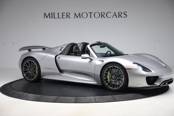 Used 2015 Porsche 918 Spyder for sale $1,355,900 at Rolls-Royce Motor Cars Greenwich in Greenwich CT 06830 11