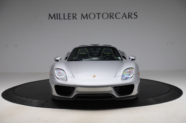 Used 2015 Porsche 918 Spyder for sale $1,355,900 at Rolls-Royce Motor Cars Greenwich in Greenwich CT 06830 12