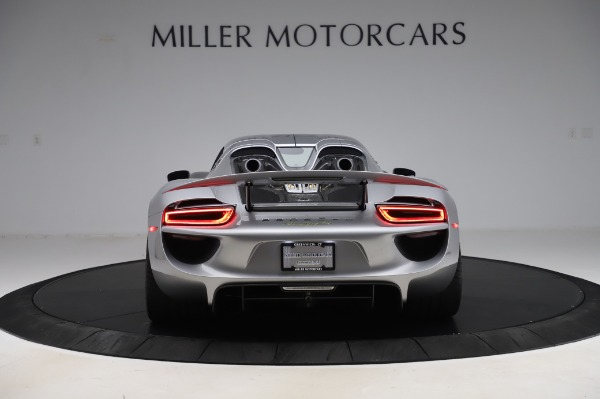 Used 2015 Porsche 918 Spyder for sale $1,355,900 at Rolls-Royce Motor Cars Greenwich in Greenwich CT 06830 13