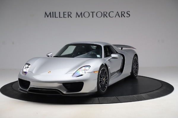 Used 2015 Porsche 918 Spyder for sale $1,355,900 at Rolls-Royce Motor Cars Greenwich in Greenwich CT 06830 14