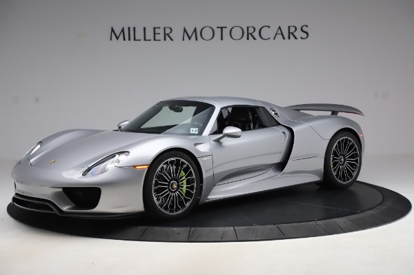 Used 2015 Porsche 918 Spyder for sale $1,355,900 at Rolls-Royce Motor Cars Greenwich in Greenwich CT 06830 16