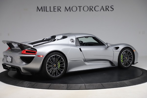Used 2015 Porsche 918 Spyder for sale $1,355,900 at Rolls-Royce Motor Cars Greenwich in Greenwich CT 06830 18