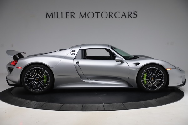 Used 2015 Porsche 918 Spyder for sale $1,355,900 at Rolls-Royce Motor Cars Greenwich in Greenwich CT 06830 19