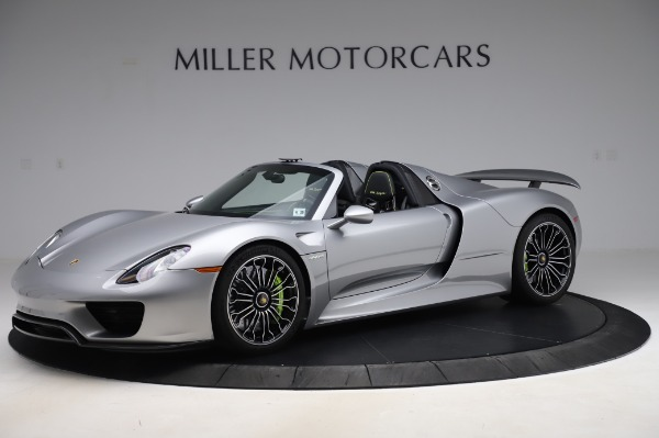 Used 2015 Porsche 918 Spyder for sale $1,355,900 at Rolls-Royce Motor Cars Greenwich in Greenwich CT 06830 2