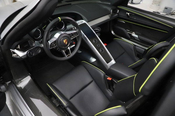 Used 2015 Porsche 918 Spyder for sale $1,355,900 at Rolls-Royce Motor Cars Greenwich in Greenwich CT 06830 22