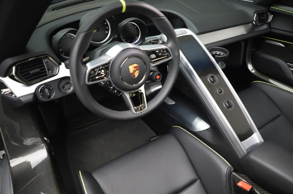 Used 2015 Porsche 918 Spyder for sale $1,355,900 at Rolls-Royce Motor Cars Greenwich in Greenwich CT 06830 27