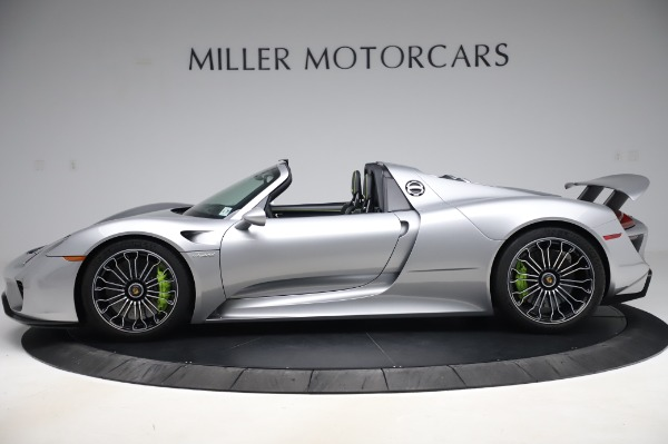 Used 2015 Porsche 918 Spyder for sale $1,355,900 at Rolls-Royce Motor Cars Greenwich in Greenwich CT 06830 3
