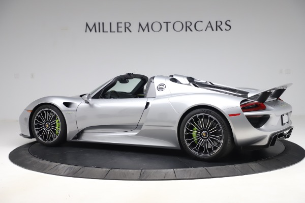 Used 2015 Porsche 918 Spyder for sale $1,355,900 at Rolls-Royce Motor Cars Greenwich in Greenwich CT 06830 4