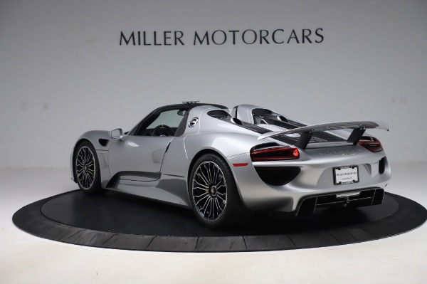 Used 2015 Porsche 918 Spyder for sale $1,355,900 at Rolls-Royce Motor Cars Greenwich in Greenwich CT 06830 5