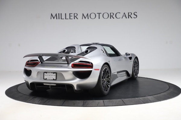 Used 2015 Porsche 918 Spyder for sale $1,355,900 at Rolls-Royce Motor Cars Greenwich in Greenwich CT 06830 7