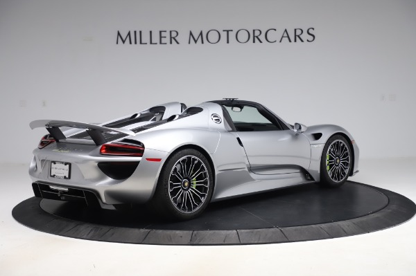Used 2015 Porsche 918 Spyder for sale $1,355,900 at Rolls-Royce Motor Cars Greenwich in Greenwich CT 06830 8