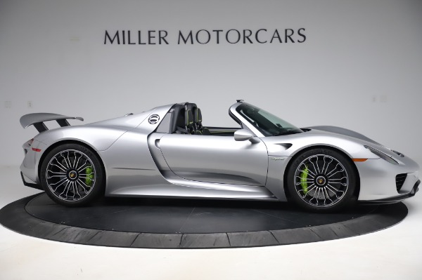 Used 2015 Porsche 918 Spyder for sale $1,355,900 at Rolls-Royce Motor Cars Greenwich in Greenwich CT 06830 9