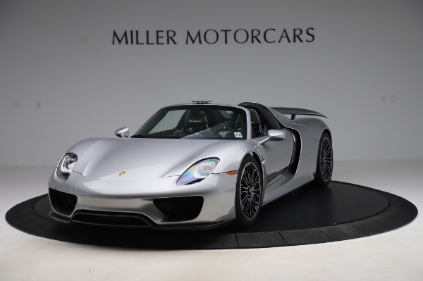 Used 2015 Porsche 918 Spyder for sale $1,355,900 at Rolls-Royce Motor Cars Greenwich in Greenwich CT 06830 1