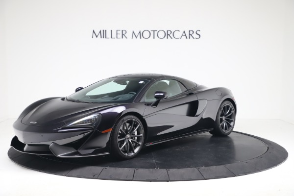 Used 2019 McLaren 570S Spider Convertible for sale $189,900 at Rolls-Royce Motor Cars Greenwich in Greenwich CT 06830 10