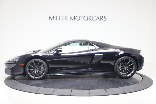 Used 2019 McLaren 570S Spider Convertible for sale $189,900 at Rolls-Royce Motor Cars Greenwich in Greenwich CT 06830 11