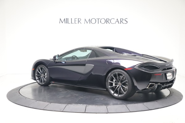 Used 2019 McLaren 570S Spider Convertible for sale $189,900 at Rolls-Royce Motor Cars Greenwich in Greenwich CT 06830 12