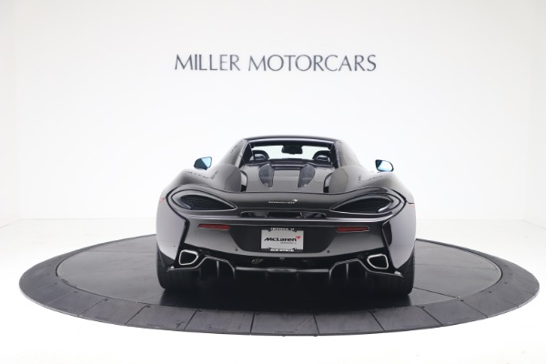 Used 2019 McLaren 570S Spider Convertible for sale $189,900 at Rolls-Royce Motor Cars Greenwich in Greenwich CT 06830 13