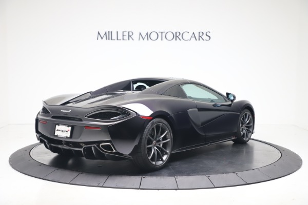 Used 2019 McLaren 570S Spider Convertible for sale $189,900 at Rolls-Royce Motor Cars Greenwich in Greenwich CT 06830 14