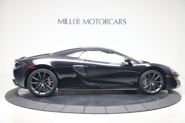 Used 2019 McLaren 570S Spider Convertible for sale $189,900 at Rolls-Royce Motor Cars Greenwich in Greenwich CT 06830 15
