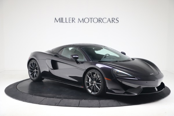 Used 2019 McLaren 570S Spider Convertible for sale $189,900 at Rolls-Royce Motor Cars Greenwich in Greenwich CT 06830 16
