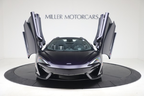 Used 2019 McLaren 570S Spider Convertible for sale $189,900 at Rolls-Royce Motor Cars Greenwich in Greenwich CT 06830 17