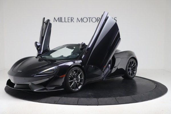 Used 2019 McLaren 570S Spider Convertible for sale $189,900 at Rolls-Royce Motor Cars Greenwich in Greenwich CT 06830 18