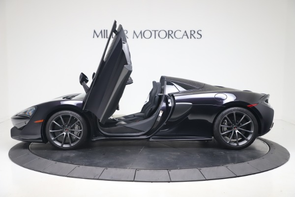 Used 2019 McLaren 570S Spider Convertible for sale $189,900 at Rolls-Royce Motor Cars Greenwich in Greenwich CT 06830 19