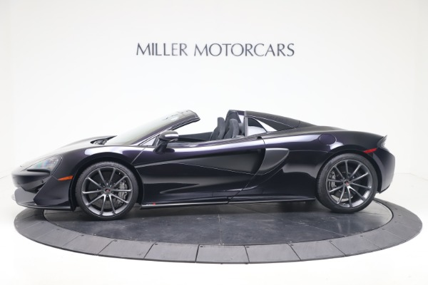 Used 2019 McLaren 570S Spider Convertible for sale $189,900 at Rolls-Royce Motor Cars Greenwich in Greenwich CT 06830 2
