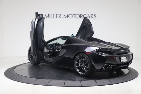 Used 2019 McLaren 570S Spider Convertible for sale $189,900 at Rolls-Royce Motor Cars Greenwich in Greenwich CT 06830 20