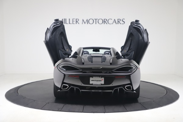 Used 2019 McLaren 570S Spider Convertible for sale $189,900 at Rolls-Royce Motor Cars Greenwich in Greenwich CT 06830 21