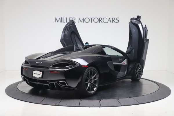 Used 2019 McLaren 570S Spider Convertible for sale $189,900 at Rolls-Royce Motor Cars Greenwich in Greenwich CT 06830 22
