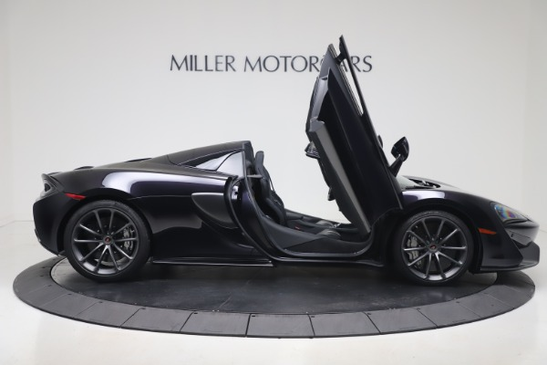 Used 2019 McLaren 570S Spider Convertible for sale $189,900 at Rolls-Royce Motor Cars Greenwich in Greenwich CT 06830 23