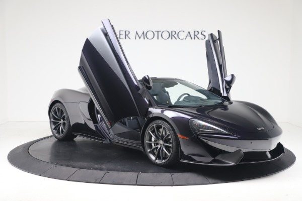 Used 2019 McLaren 570S Spider Convertible for sale $189,900 at Rolls-Royce Motor Cars Greenwich in Greenwich CT 06830 24