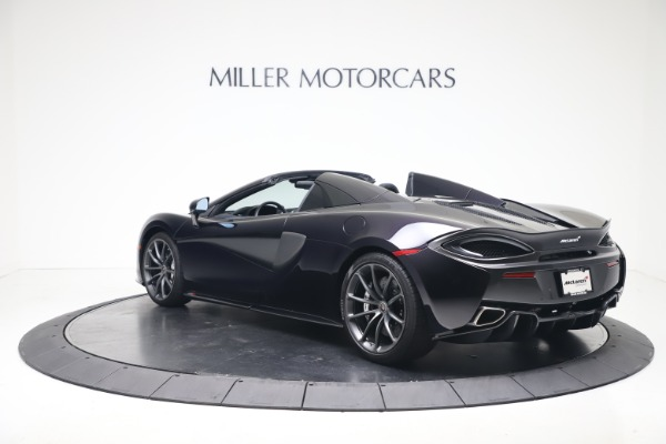 Used 2019 McLaren 570S Spider Convertible for sale $189,900 at Rolls-Royce Motor Cars Greenwich in Greenwich CT 06830 3