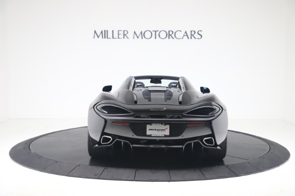 Used 2019 McLaren 570S Spider Convertible for sale $189,900 at Rolls-Royce Motor Cars Greenwich in Greenwich CT 06830 4