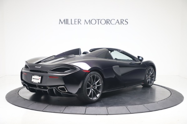 Used 2019 McLaren 570S Spider Convertible for sale $189,900 at Rolls-Royce Motor Cars Greenwich in Greenwich CT 06830 5